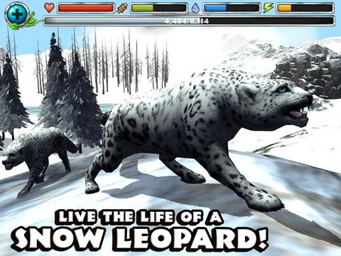 Snow Leopard Simulator screenshot 6