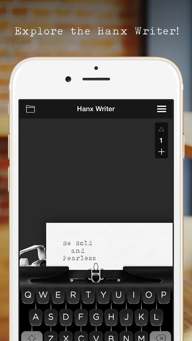 Hanx Writer screenshot 1