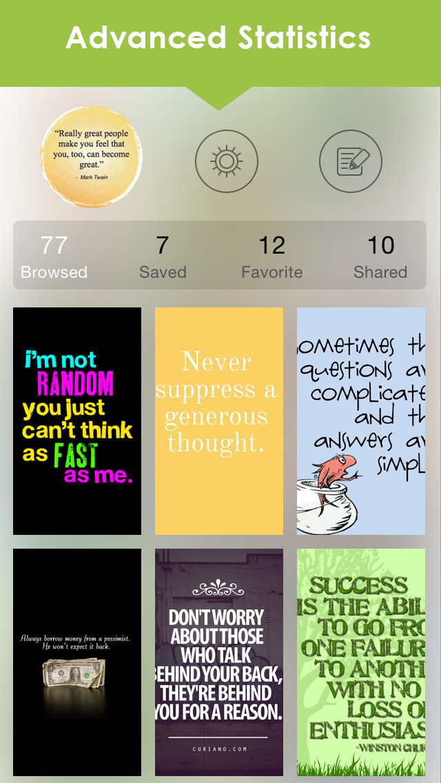 Quotes & Sayings WallpaperS & Inspirational Maker screenshot 4