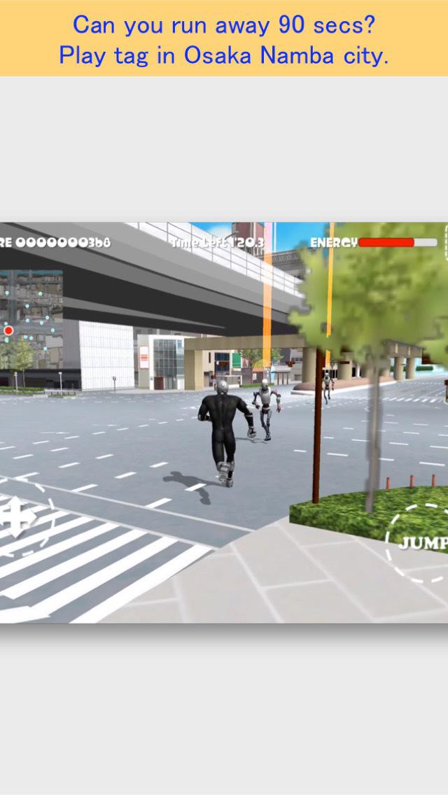 Namba Run Away FREE screenshot 1