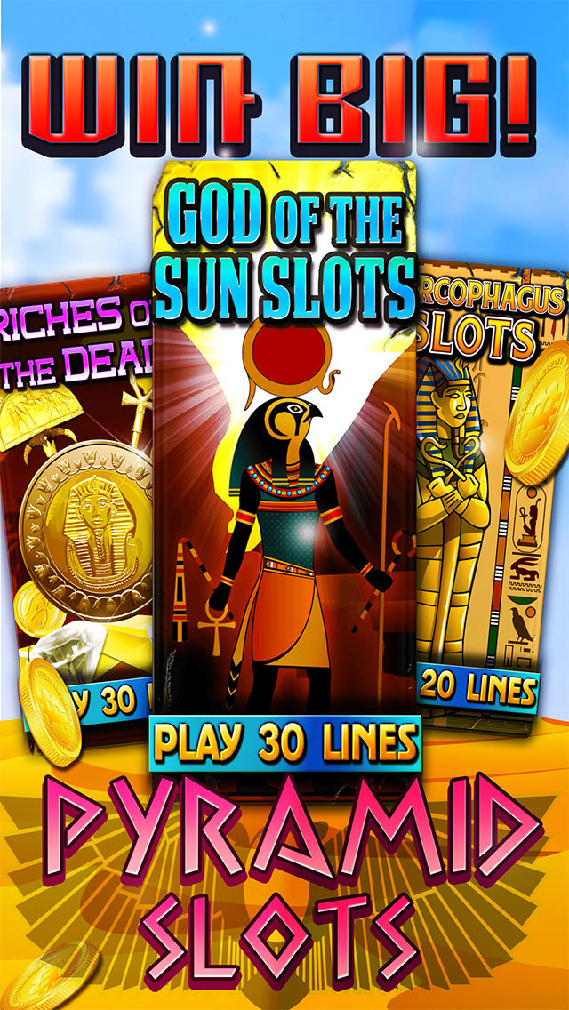 Slots of the Dark Nile Gods - Heroes Among Pharaohs Casino of Thrones screenshot 5