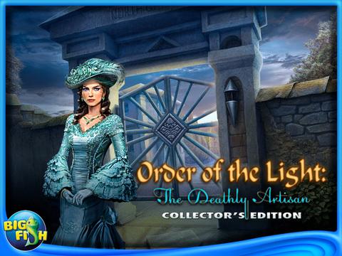 Order of the Light: The Deathly Artisan HD - A Hidden Object Game with Hidden Objects screenshot 5