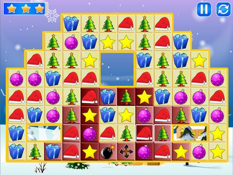 Christmas Match Boom - Holiday Season Puzzle Game with Santa Claus screenshot 6