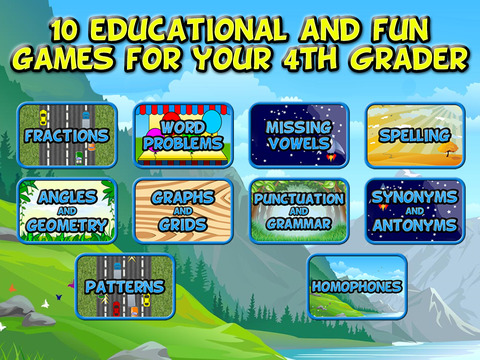 Fourth Grade Learning Games screenshot 6