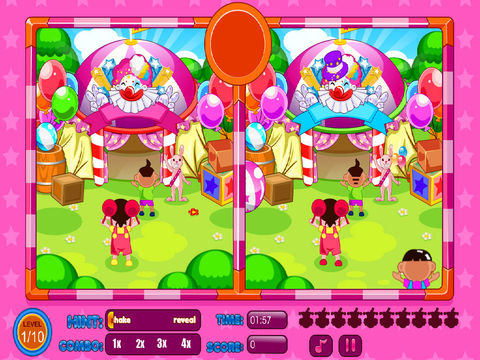 Spot The Differences Circus screenshot 7