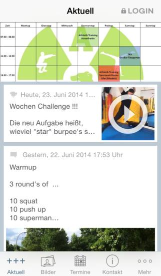 Athletik Training Berlin screenshot 1