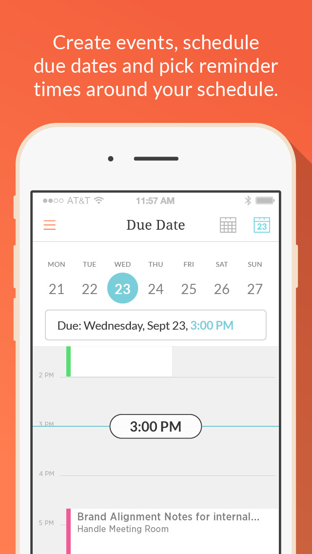Handle: GTD To-do List and Calendar Management screenshot 4
