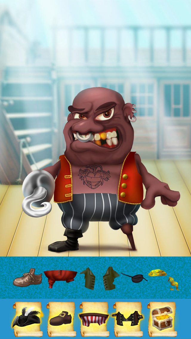 The Super Pirates of Paradise Treasure Island Ship Game For Boys - Free App screenshot 4
