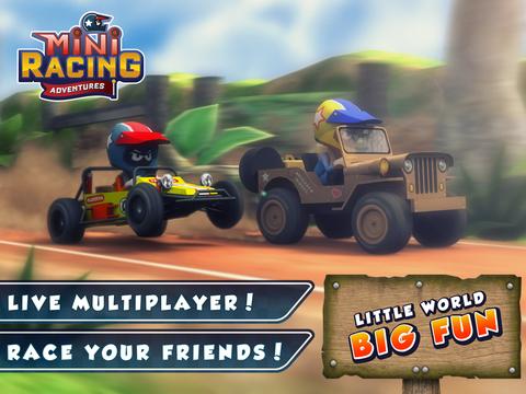 Mini Racing Adventures screenshot 6