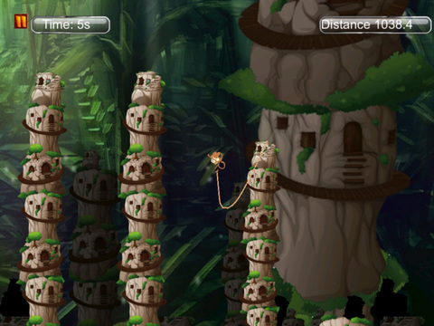 Super monkey 3D : The Jump And Fly Adventure In The Jungle screenshot 9