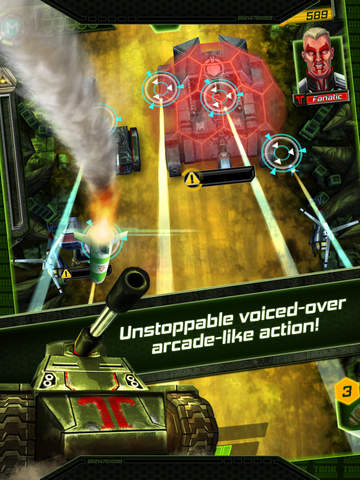 Tank Invaders: War on Terror screenshot #2