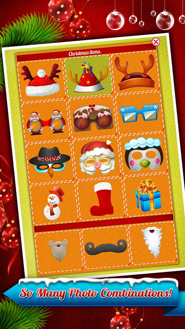 Santa Claus Photo Booth - Festive Merry Christmas Luxury Edition screenshot 2