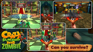 Crazy Slingshot Dead Zombie screenshot 1
