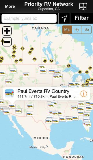 Priority RV Network screenshot 1