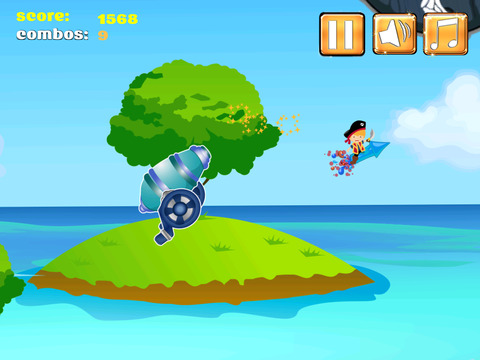 A1 Pirate Jumping Diamond Chase screenshot 8
