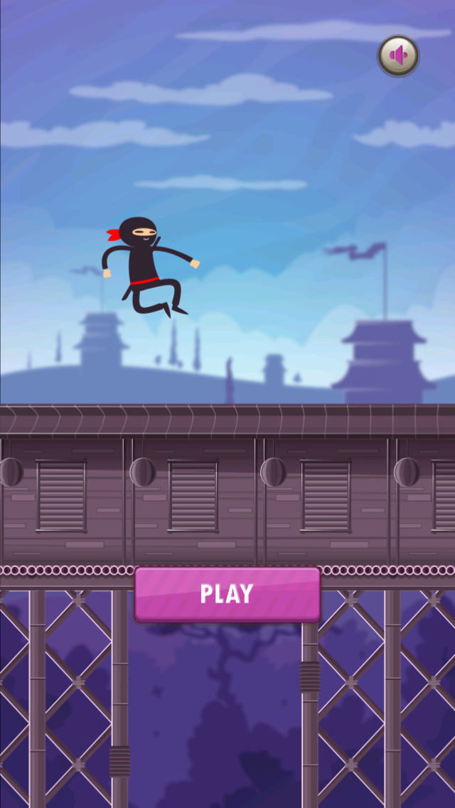 A Ninja Warrior Run Game screenshot 1