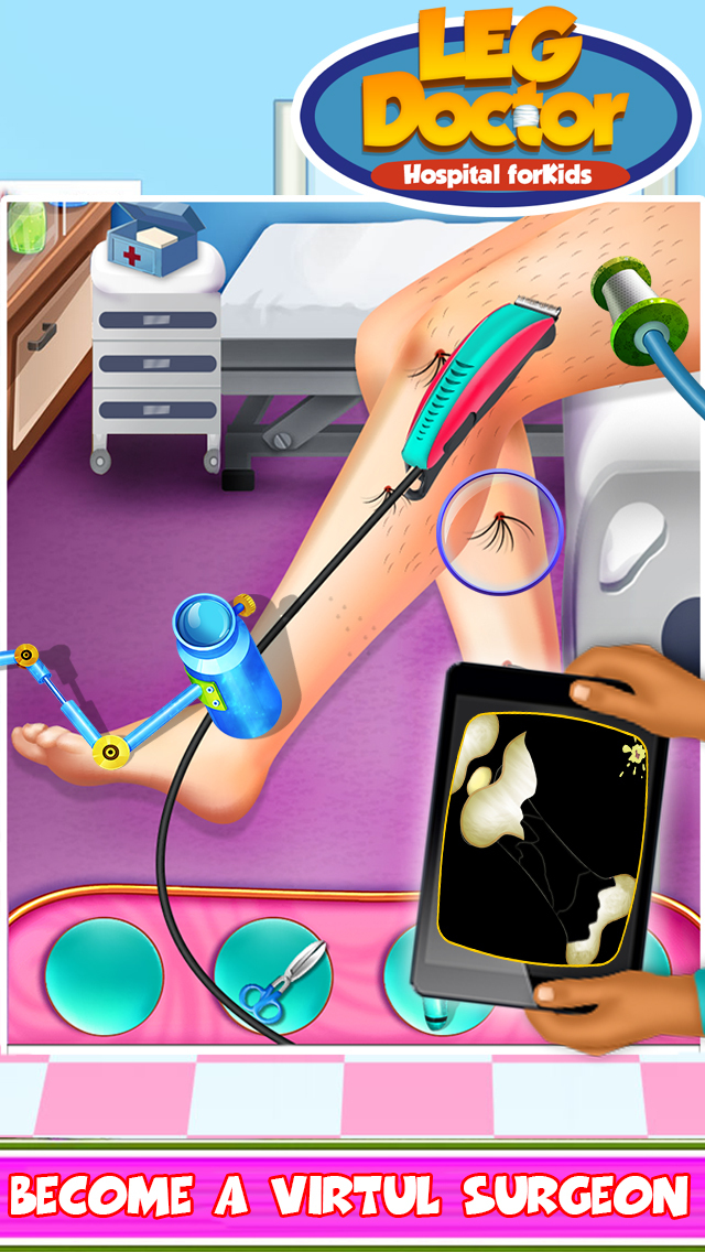 Leg Doctor Hospital For Kids screenshot 3