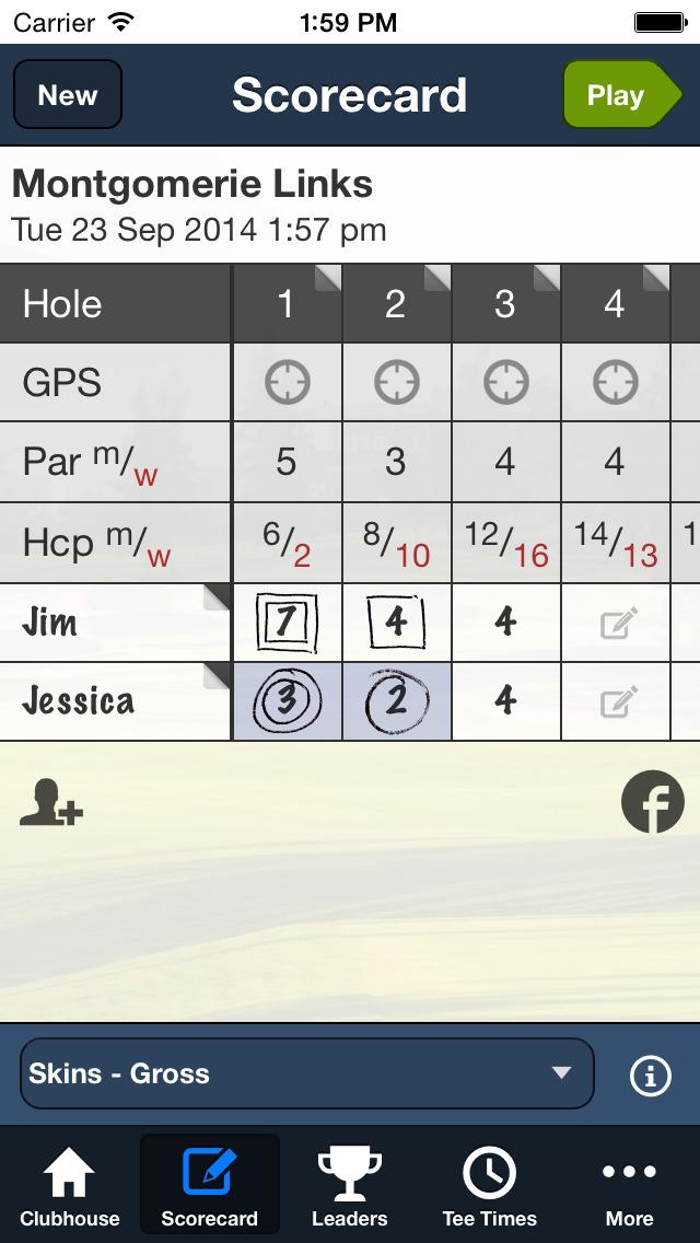 Montgomerie Links screenshot 4