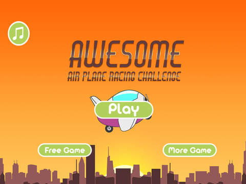 Awesome Air Plane Racing Challenge Pro - cool jet flying action game screenshot 6