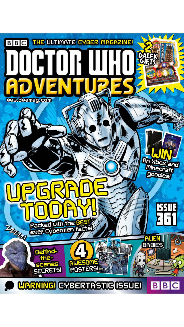 BBC Doctor Who Adventures magazine – for children who love everything about Doctor Who screenshot 1