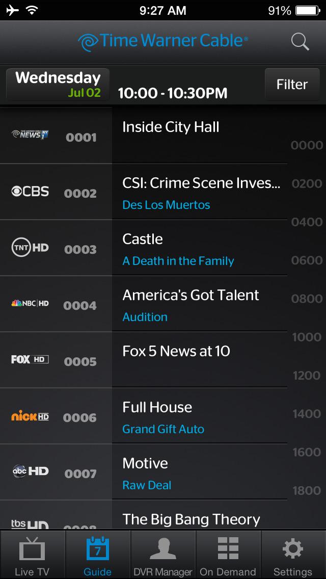 Spectrum TV screenshot 3