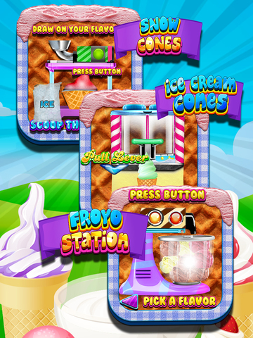 """ A Awesome Sauce Ice Cream Mogul Mania Dessert Maker for Kids! screenshot 8"