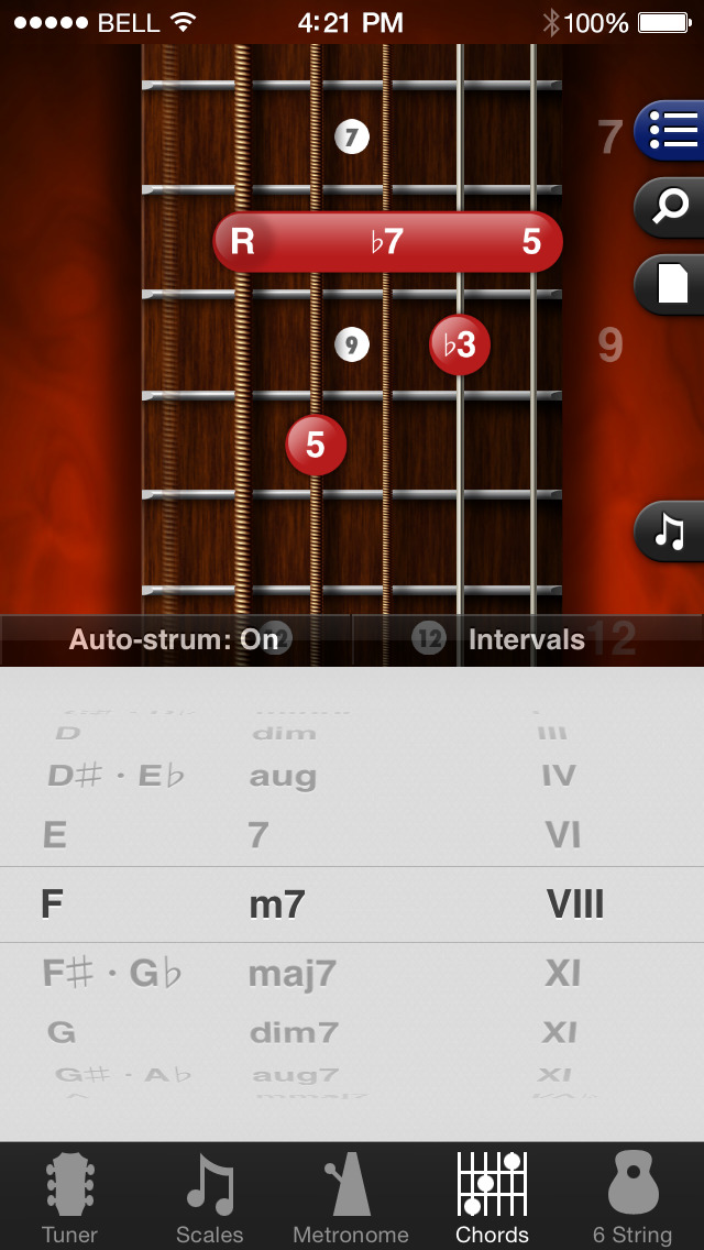 GuitarToolkit - tuner, metronome, chords & scales screenshot 2