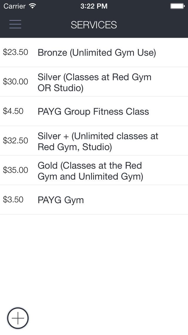 Red Gym Mobile App screenshot 4