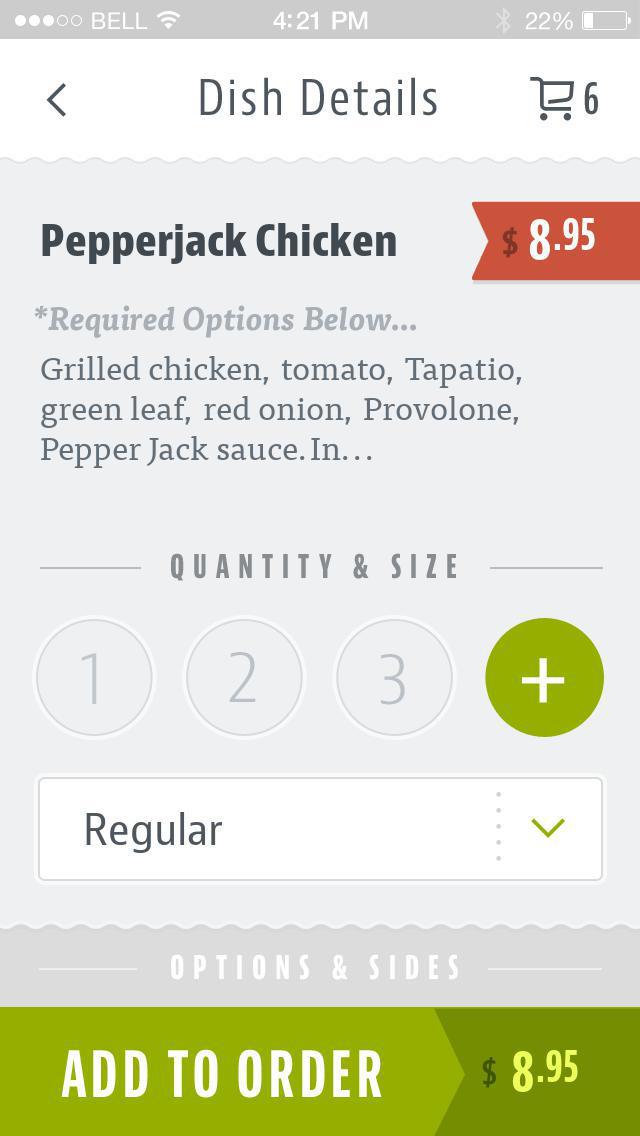 Graze Sandwiches screenshot 4
