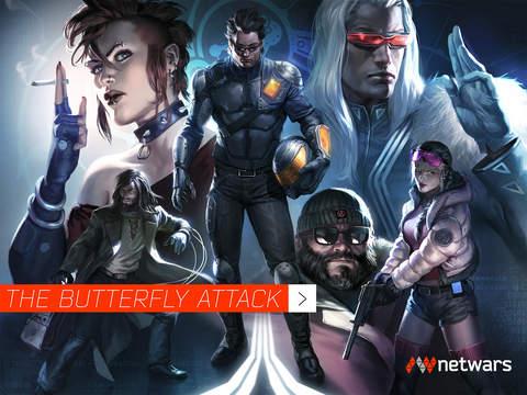 netwars / The Butterfly Attack screenshot 10