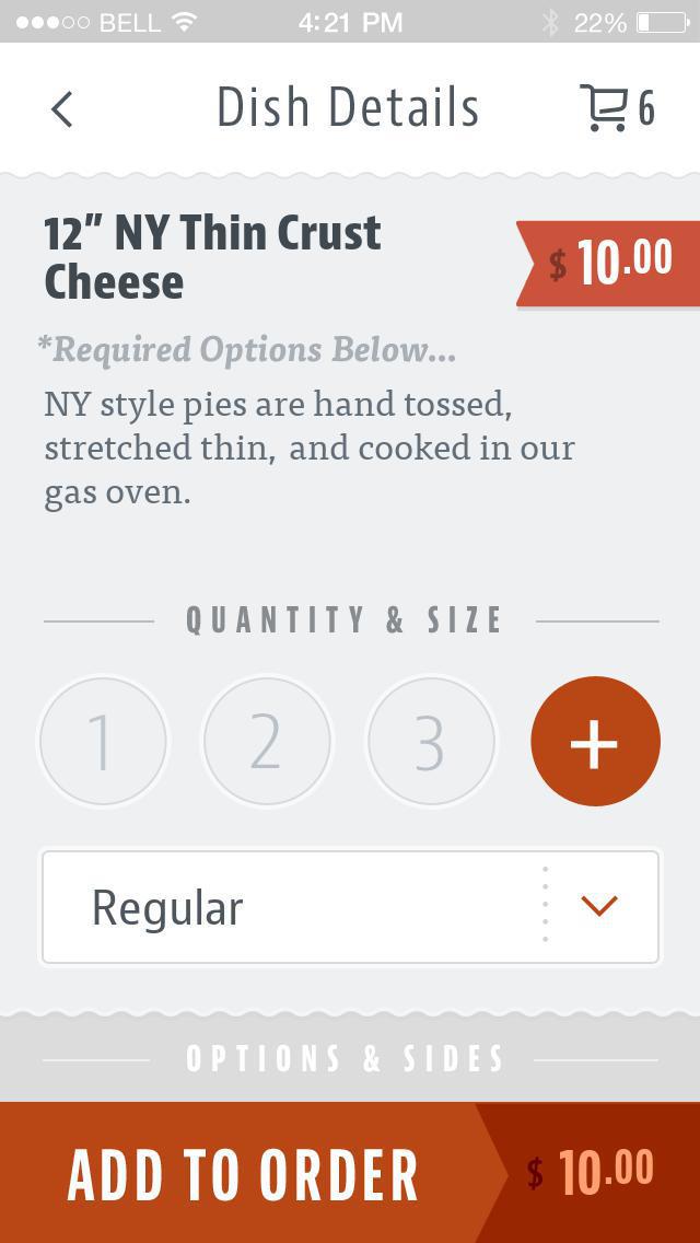 Providence Pizza screenshot 4