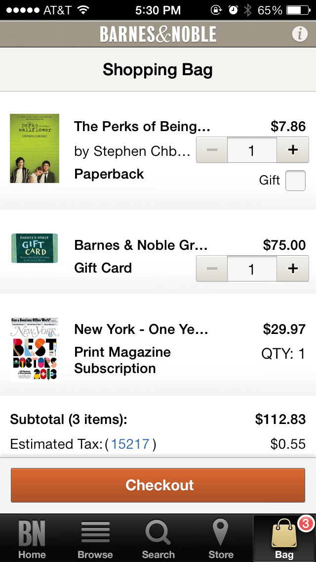 Barnes & Noble – shop books screenshot 3