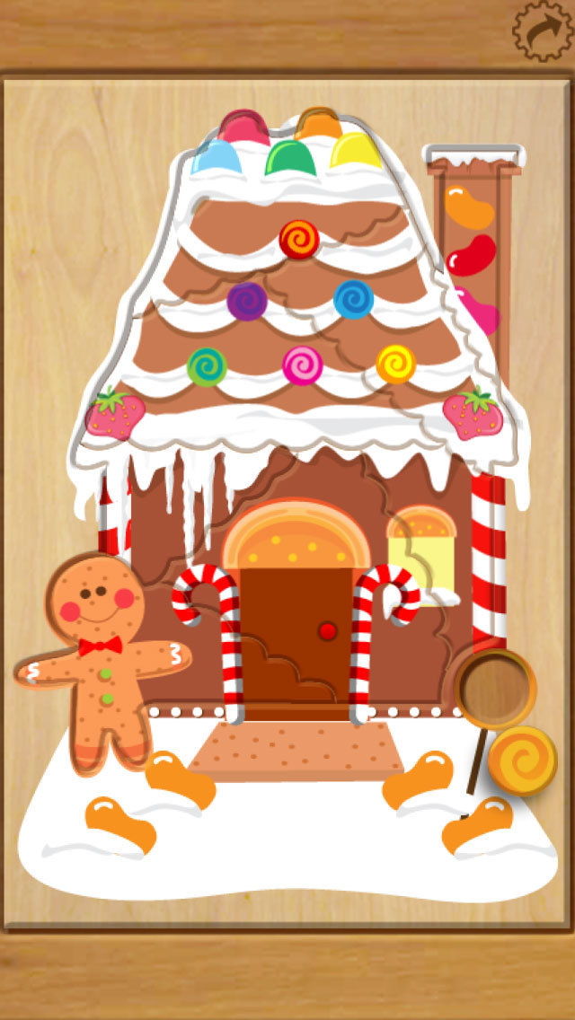 Wood Puzzle Christmas screenshot 3