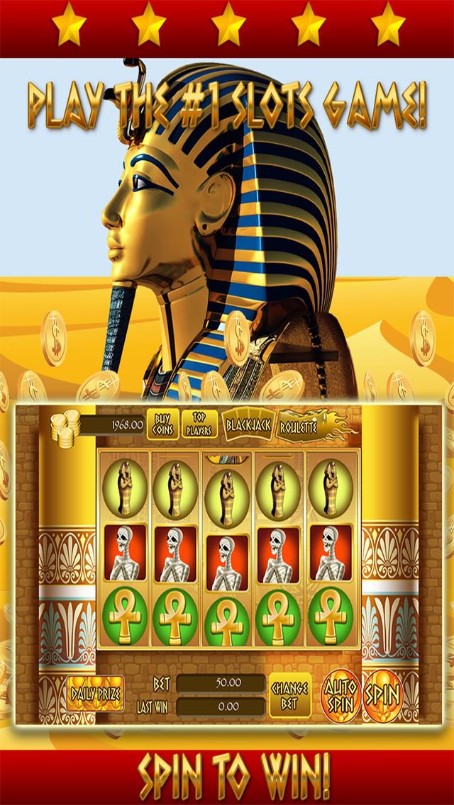 *777* Pharaoh Slots - Free Casino Games screenshot 4
