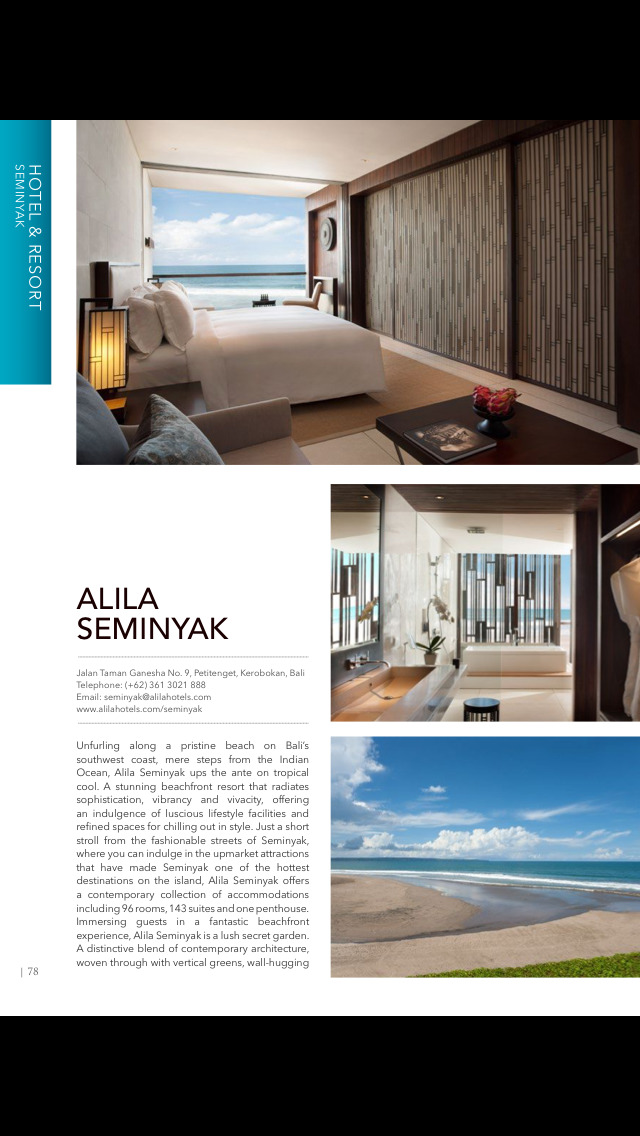 Beautiful Bali Magazine screenshot 4