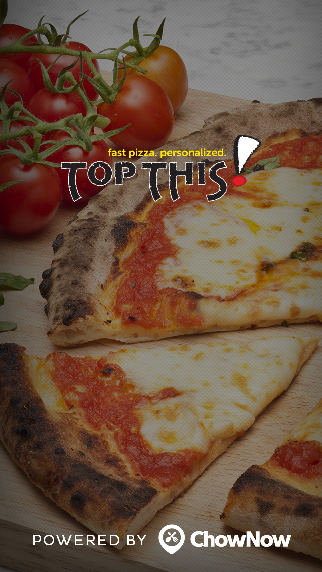 Top This Pizza Co. screenshot 1