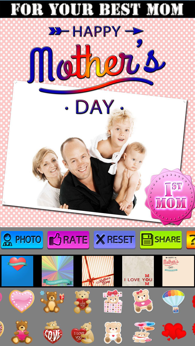 Mother's Day Frames and Labels screenshot 5