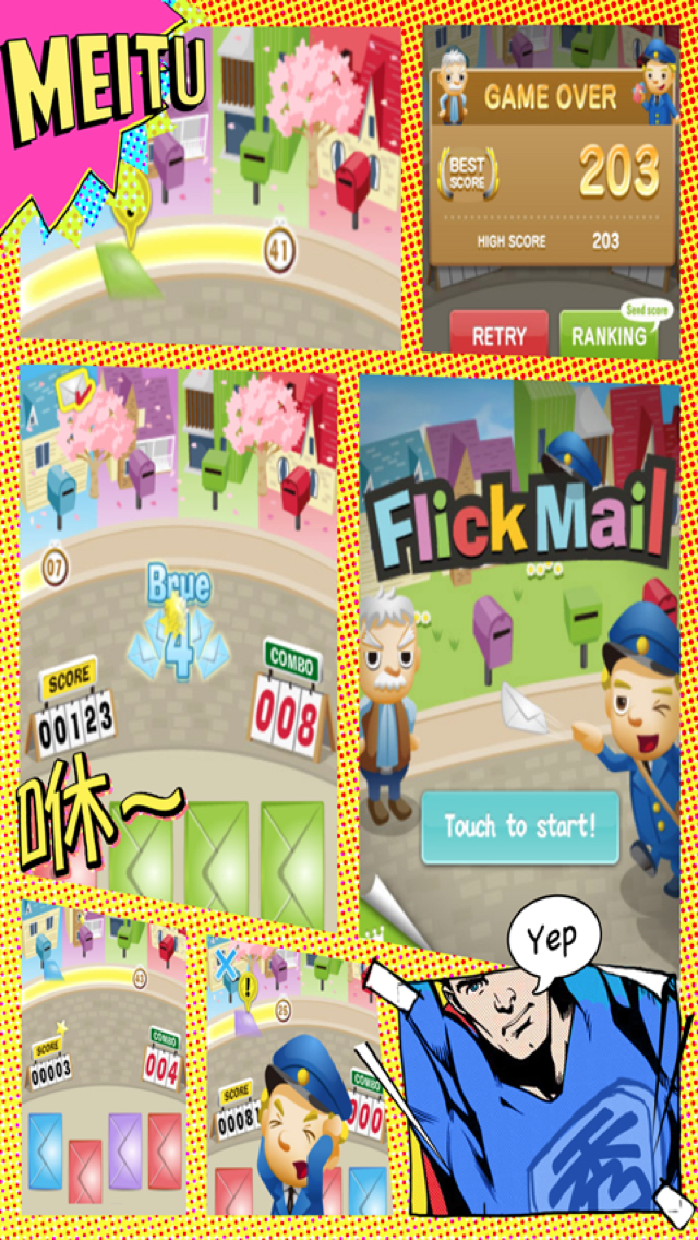 Flick Mail - Postman or Courier screenshot 3