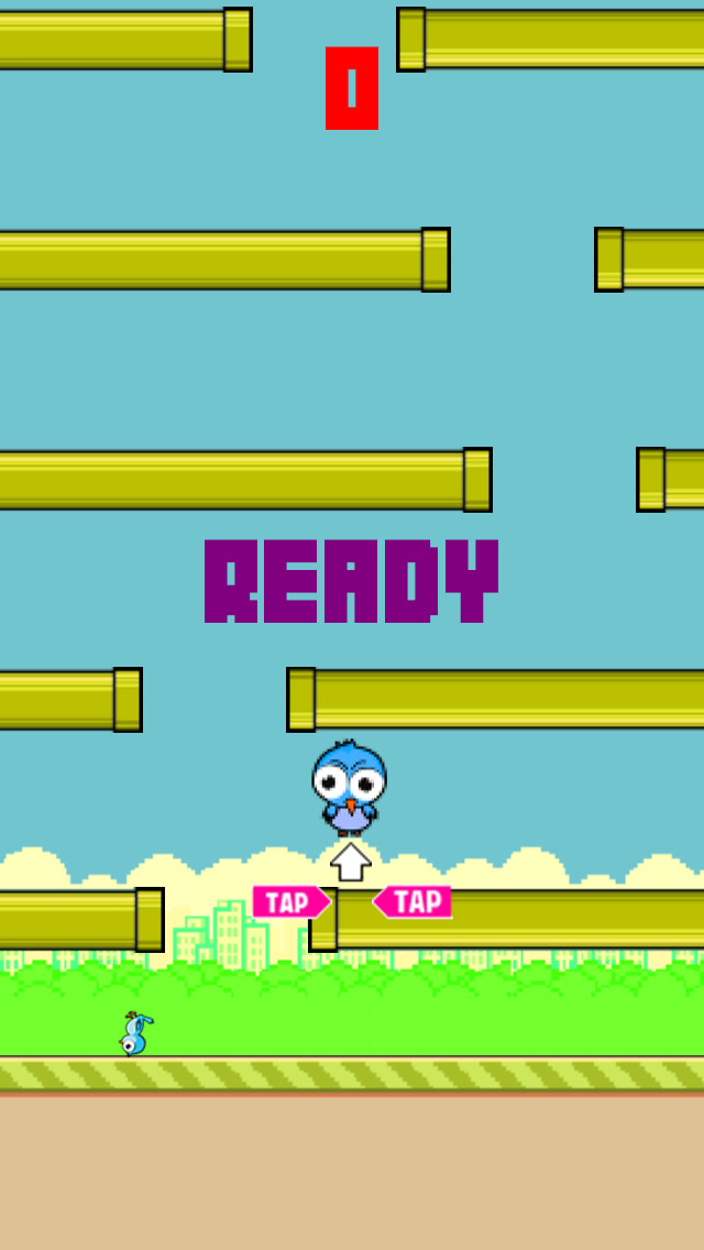 Flappy Circle Bird screenshot 2