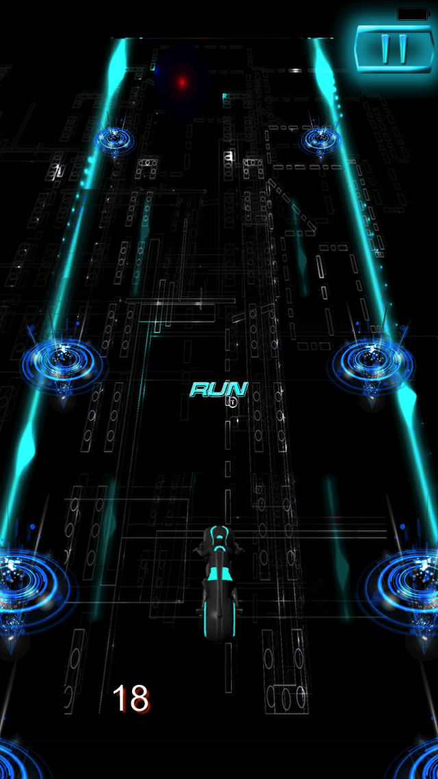 Turbo Mania Pro : Persecution Racing Neon 3D Bike screenshot 3