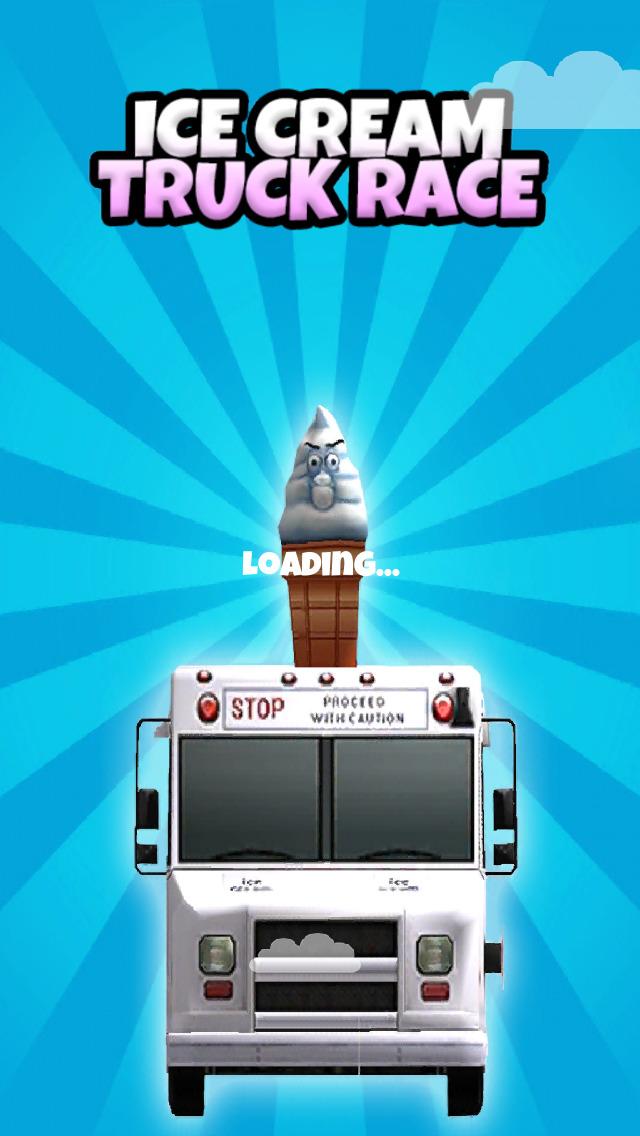 An Ice Cream Truck Race: 3D Driving Game - FREE Edition screenshot 5