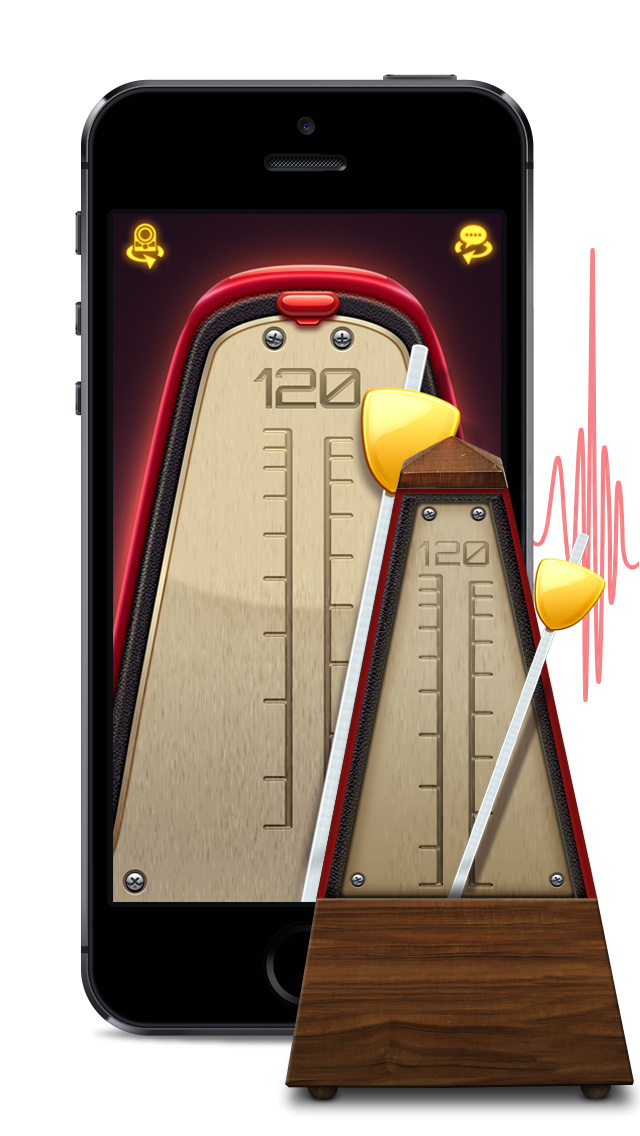 Real Metronome Pro screenshot 1