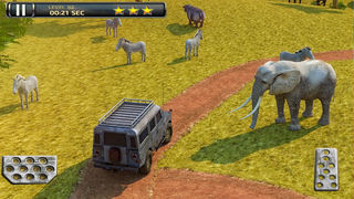 3D Safari Parking PRO - Full Wildlife Explorer Lion and Elephant Simulator Version screenshot 4