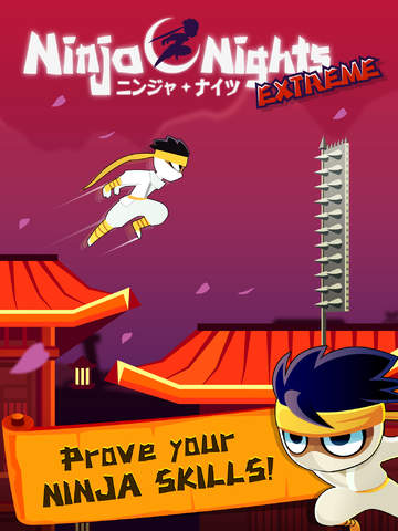 Ninja Nights - Nimble Jump Adventure Quest screenshot #1