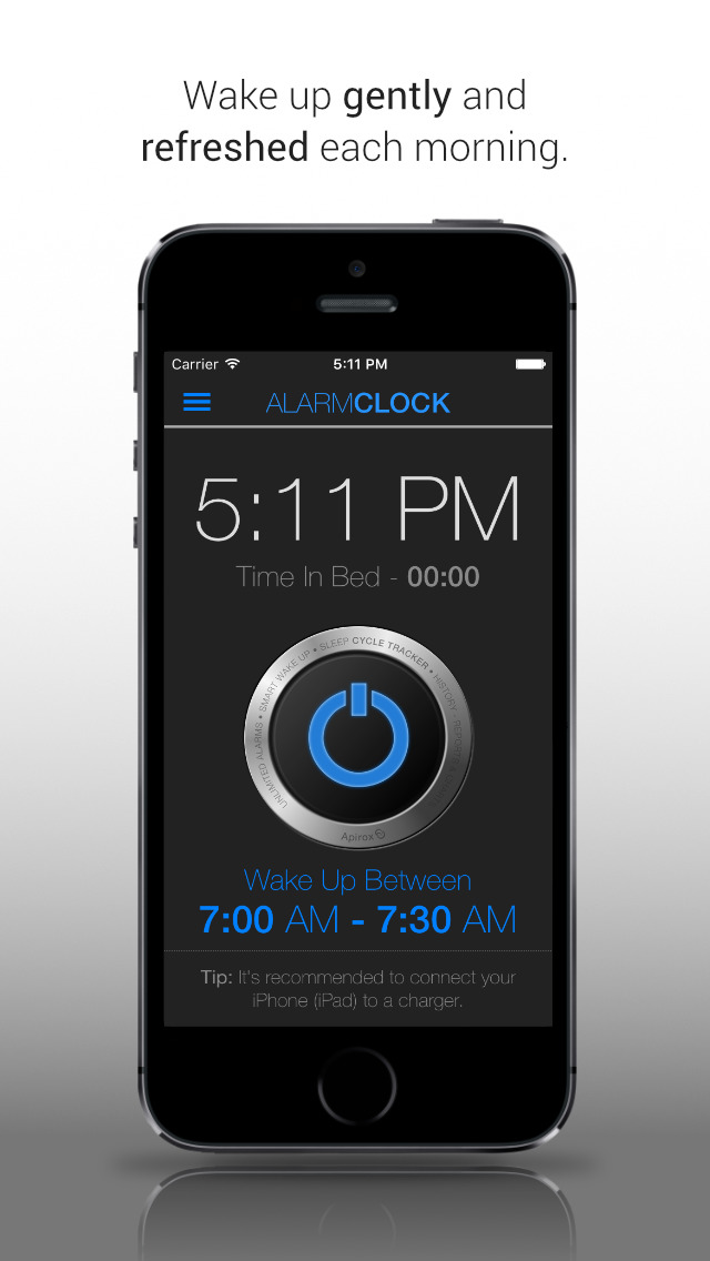Clever Alarm Clock (Sleep Cycle Tracker) screenshot 1
