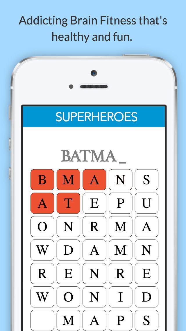 WordBender - Free Word Search Game screenshot 1