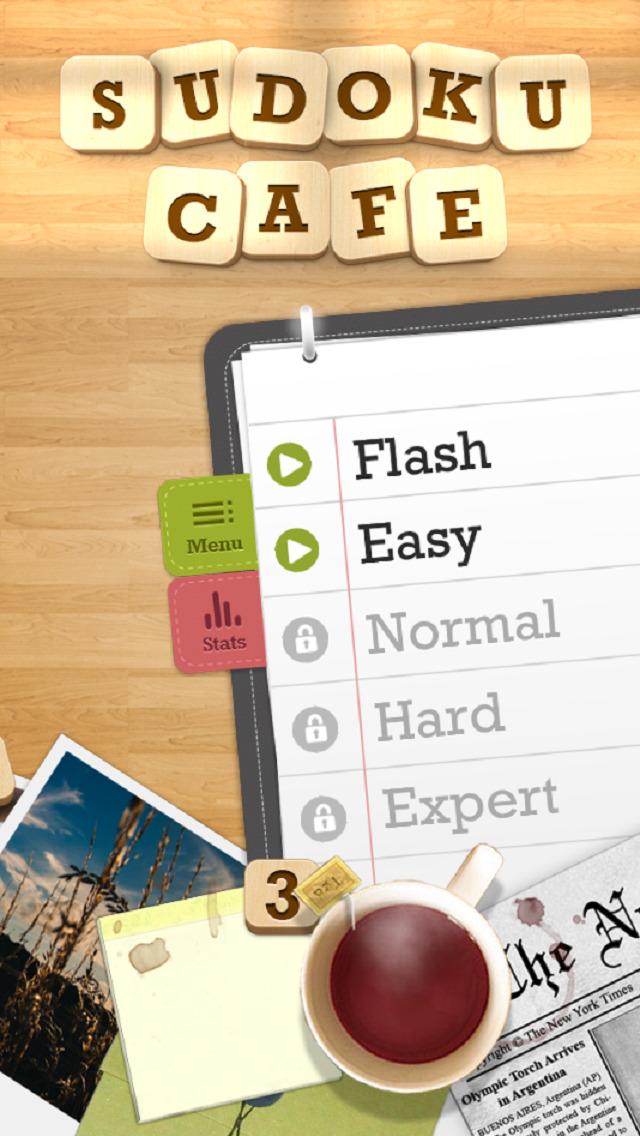 Sudoku Cafe screenshot 5