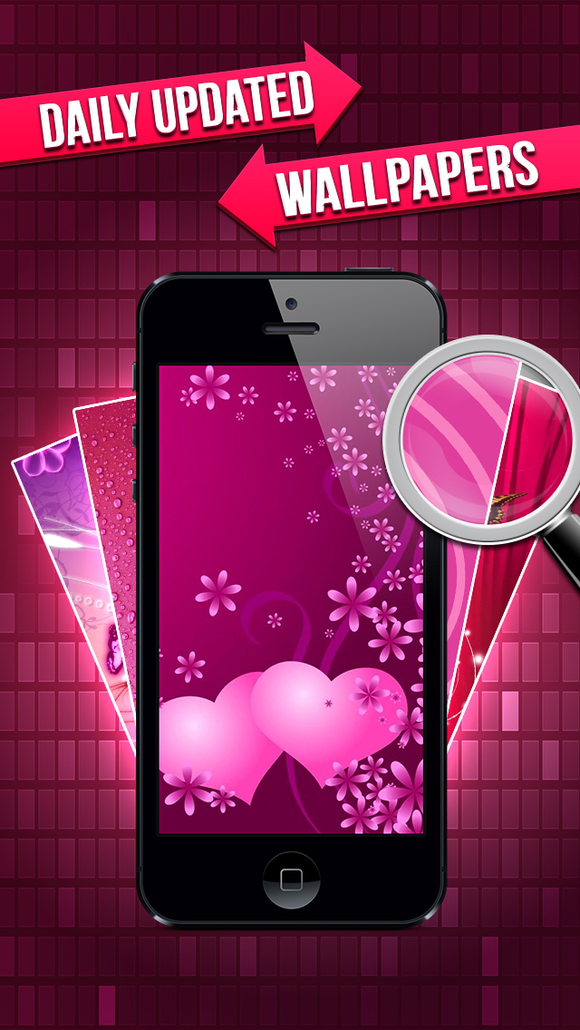 Pink Icon Skins Maker & Home Screen Wallpapers for iPhone, iPad & iPod screenshot 5