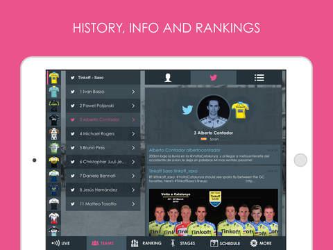 Giro d'Italia 2015 edition Pro - Cycling Tour App screenshot 7