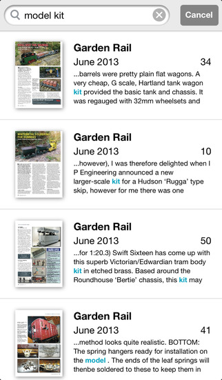 Garden Rail & Archive screenshot 4
